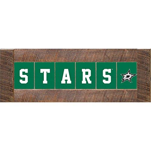 (NHL Dallas Stars Marlin Classic Decorative Sign, 12