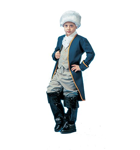Child Colonial Soldier Costume (PA6623 (Large 12-14) Child George Washington Costume)