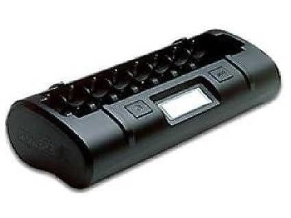 Amazon.com: Powerex mh-c808 m 8 Bay LCD Cargador de batería ...