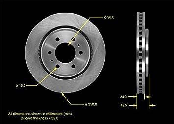 Bendix PRT5698 Brake Rotor