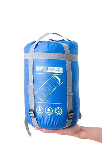HONEST OUTFITTERS stuff sacks for sleeping bag(Royal Blue)