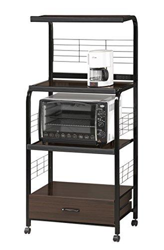 Crown Mark Kitchen Shelf, Black