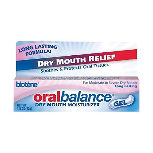 - Biotene Oral Balance Dry Mouth Moisturizing Gel 1.5 oz soothe oral tissues long by Biotene