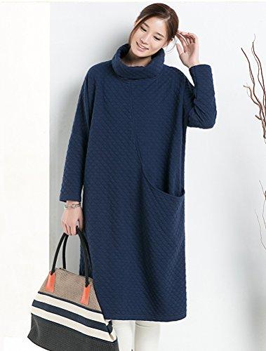 MatchLife - Vestido - para mujer azul marino