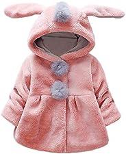 Willsa Baby Girl Clothes, Venonat Rabbit Ears Hooded Keep Warm Coat Clothes