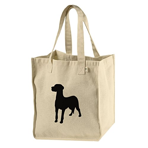 - Market Tote Bag Hemp/Cotton Canvas Great Dane Silhouette By Style In Print