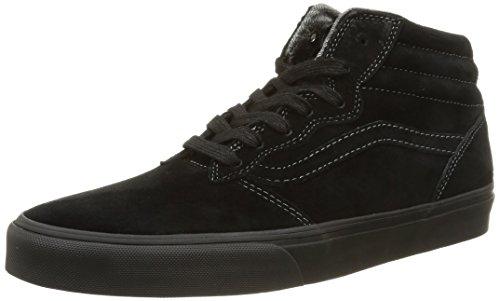 Vans M Milton Hi MTE, Sneaker Basse Uomo Nero (Black/Pewter)