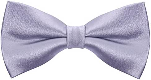 100% Silk Solid Bowtie Mens Tuxedo Bow Tie by - Scott Allan Collection