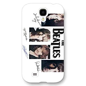 UniqueBox - Customized White Frosted Samsung Galaxy S4 Case, Popular Band The Beatles Samsung S4 case, Only fit Samsung Galaxy S4