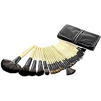 FAS-MB-03-BR Professional Makeup Brushes 32pcs - Beige