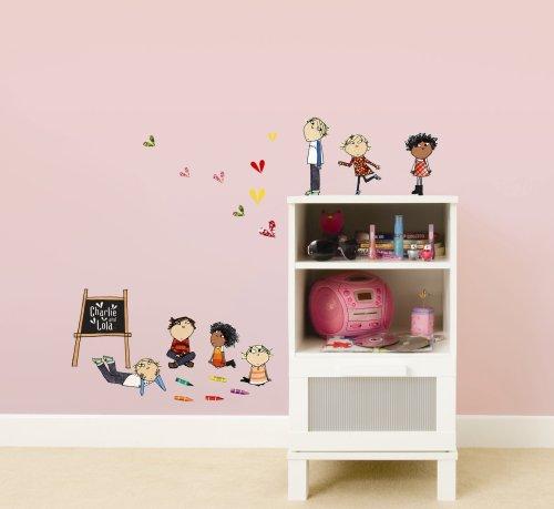 Charming Decofun Charlie And Lola Wall Sticker Stikarounds Amazon Part 3