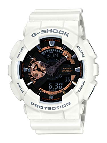 Casio Men's GA110RG-7A G-Shock White Watch