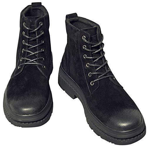 Desert Adulti High Classica Leather Shoes Pelle Bang Martens 42 Moda Stivali Chelsea Stivali Warm Addensare Stivali Retro Classici Black Dr Boots q8ntznT