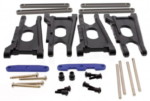 Traxxas Telluride 4x4 XL-5 FRONT & REAR SUSPENSION ARMS & HINGE PINS CAMBER - Mail Usps Priority International