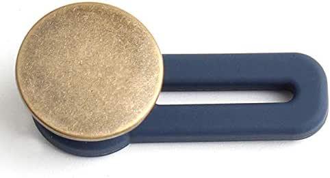 Jeans Retractable Button Adjustable Detachable Extended(2PCS)