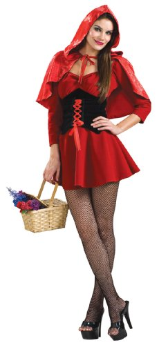 Male Little Red Riding Hood Costumes (Red Riding Hood Adult Costume - X-Small)