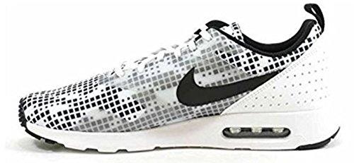 Nike Mens Air Max Tavas Scarpe Da Corsa (10 D (m) Us, Bianco / Nero / Nero)