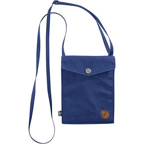 Fjällräven Unisex-Erwachsene Pocket Strandtasche aus Stoff, 24x36x45 cm Blau (Deep Blue)