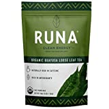 RUNA Organic Guayusa Loose Leaf Tea, 1 Pound (16oz) | Packed with Natural Caffeine for Clean Energy | Antioxidant Rich Alternative to Yerba Mate, Coca Leaves, and Green Tea Matcha
