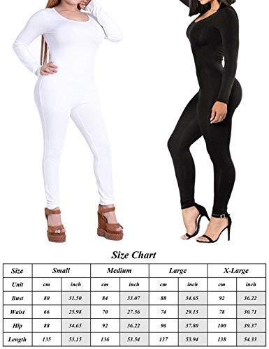 0613af886d37 XUGWLKJ Women s One Piece Bodysuit Shapewear Bodycon Clubwear Jumpsuits  Romper Black