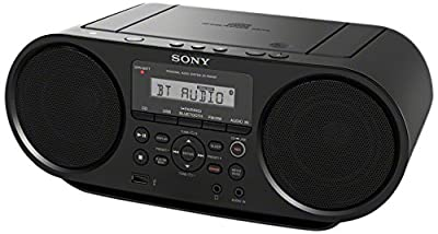Sony ZSRS60BT CD Boombox with Bluetooth and NFC (Black) by i-kool