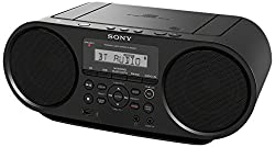 Sony Zsrs60bt Cd Boombox With Bluetooth & Nfc (Black)