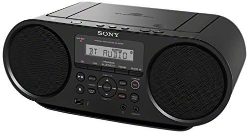(Sony ZSRS60BT CD Boombox with Bluetooth and NFC (Black))