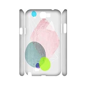 3D Ancos FKK Samsung Galaxy Note 2 Cases Graphic 123, FKK [White]