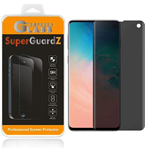 for Samsung Galaxy S10e [NOT Fit Samsung Galaxy S10] Tempered Glass Screen Protector [Privacy Anti-Spy], SuperGuardZ, 9H Anti-Scratch, Anti-Bubble [Lifetime Replacements]