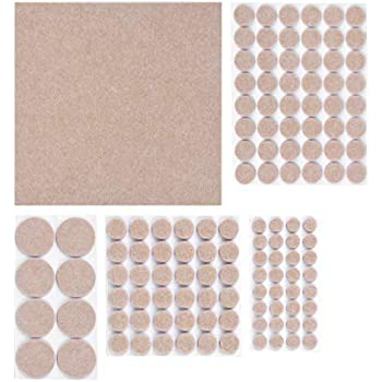 Furniture Pads Felt Pads 125 Pieces Premium Sticky Self