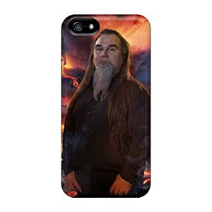Iphone 5/5s SKp7722CHGh Provide Private Custom Trendy Korpiklaani Band Skin Protective Hard Phone Case -SherriFakhry