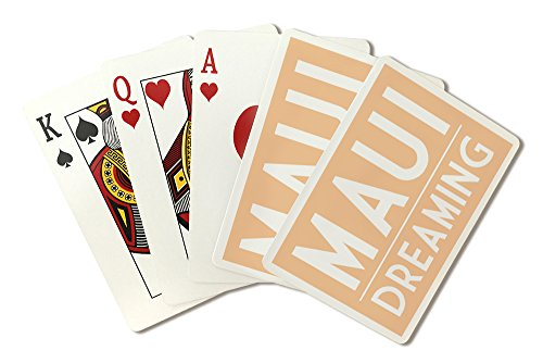 Maui Dreaming - Simply Said (Playing Card Deck - 52 Card Poker Size with - Maui Gin