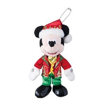 Mickey Mouse insignia juguete de peluche de Disney de Navidad 2014 [Tokyo Disneyland limitado]