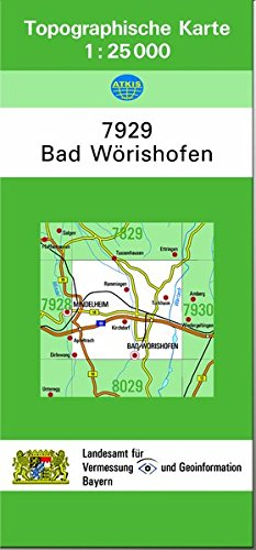 Tk25 7929 Bad Worishofen 9783860387740 Amazon Com Books