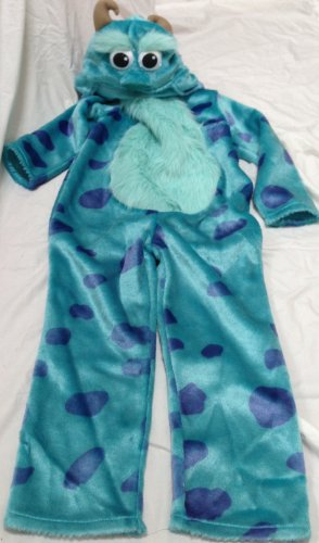 [Disney Pixar Monster Inc Sully Sulley Kids Size Age 2-3 Costume] (Sully Monsters Inc Costumes)
