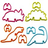 Lakeland 3D Dinosaur Cookie Cutters (Makes 4 Dinosaurs)