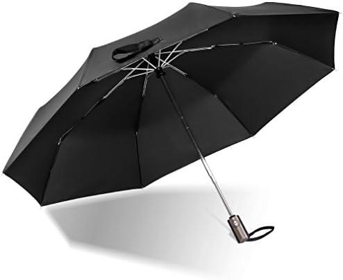 [해외]AFUKA 접이식 우산 원터치 자동 개폐 접이식 우산 초 발 수 경량 큰 내 바람 비가 겸용 (블랙) / AFUKA Folding Umbrella One Touch Automatic Opening And Closing Folding Umbrella Super Water Repellent Lightweight Large Wind Proof Sunny Rai...