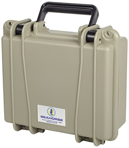 Seahorse 300 Protective Case without Foam, Desert Tan