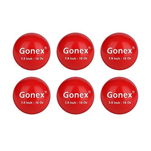 Gonex Weighted Baseball for Hitting Heavy Baseball Training Balls, 2.8 inch 16oz