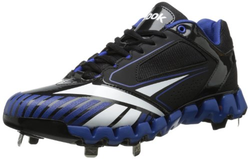 Reebok Men's zigcooperstown 2.0 Low m-m, Black/Royal, 13 M US