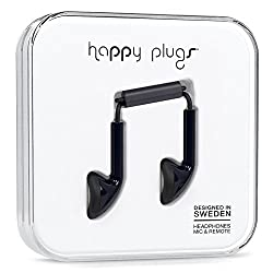 Happy Plugs Headphones with Mic and Remote