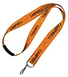 WinCraft Campbell University Lanyard with safety breakaway clasp