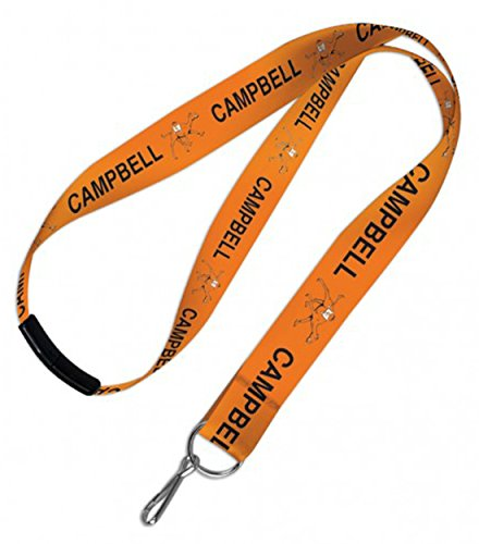 WinCraft Campbell University Lanyard with safety breakaway clasp by WinCraft