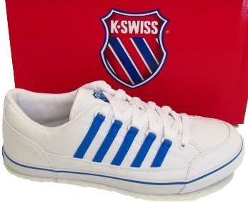 K-Swiss Womens White Blue Surf \u0026 Sand