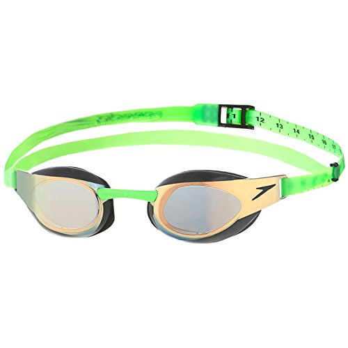 Speedo Fastskin3 Elite Mirrored Goggle Green 1SZ - Import It All b2060df812c5