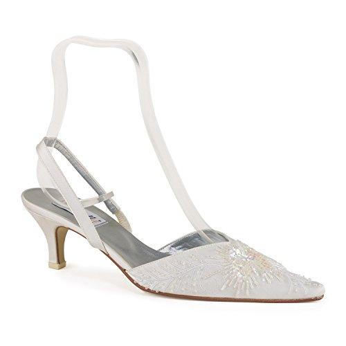 FARFALLA - Zapatos con correa de tobillo mujer Blanco - blanco