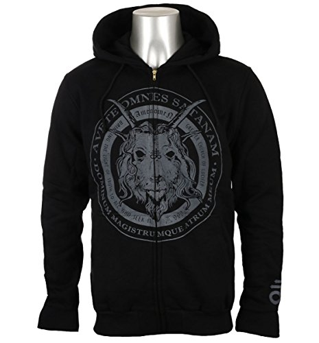 Amenomen Sweat Church Satan Of 1 shirt Hommes Avec Omen053cr Capuche Pour SUSBHq4