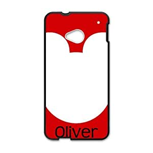 Oliver Lovely bear head Cell Phone Case for HTC One M7