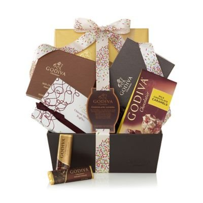 GODIVA Chocolatier Chocolate Lovers Gift Basket - Celebration
