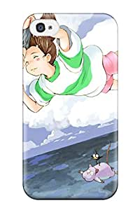 Iphone 4/4s Case Cover - Slim Fit Tpu Protector Shock Absorbent Case (spirited Away) 4678338K92131533